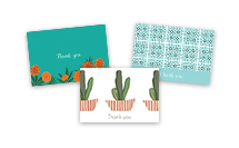 Thank You Cards Folded