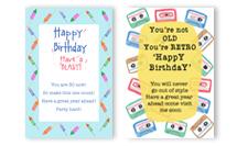 DIY - Birthdays