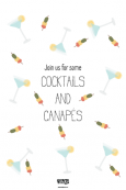 Cocktail And Canapes