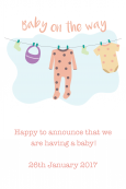 Birth Announcement Digital Palette 4