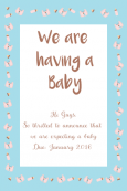 Birth Announcement Digital Palette 12
