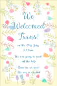 Birth Announcement Digital Palette 13