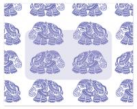 Flat Note Cards Envelope - Elephant