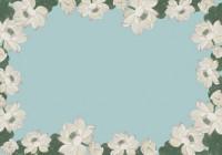 Folded Note Cards Envelope - Lotus Blooms