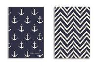 Soft Cover - Nautical & Chevron