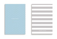 Soft Cover - Stripes and Blue Polka