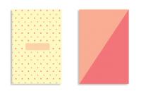Soft Cover - Peach & Polka