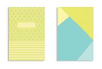 Soft Cover - Lime & Polka