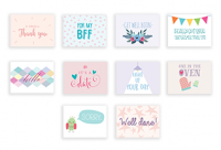 Essentials (Set of 10 Mini Cards with Envelopes)