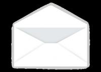 """Regular Envelope (5"""" x 7"""") -  White"""