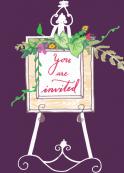 Invitation Easel