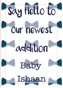 Birth Announcement Palette 4