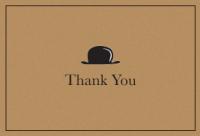 Bowler Hat Bold