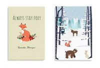 Soft Cover - Winter Animals