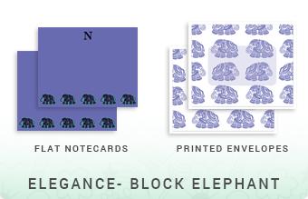 Elegance - Block Elephant