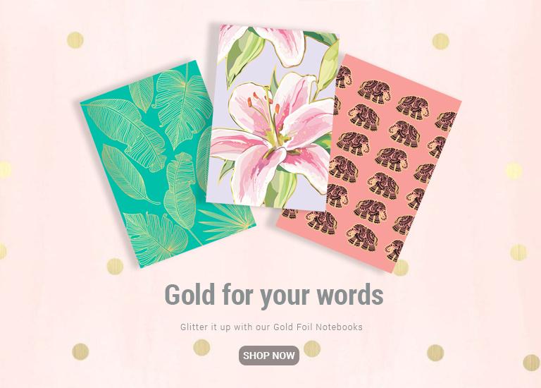 Gold Foil Gift Sets