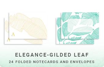Elegance - Gilded Leaf