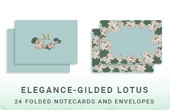 Elegance - Gilded Lotus