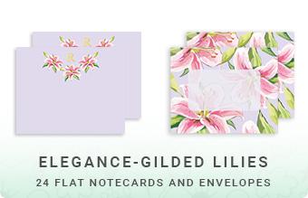 Elegance - Gilded Lilies